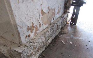 moisture inspection